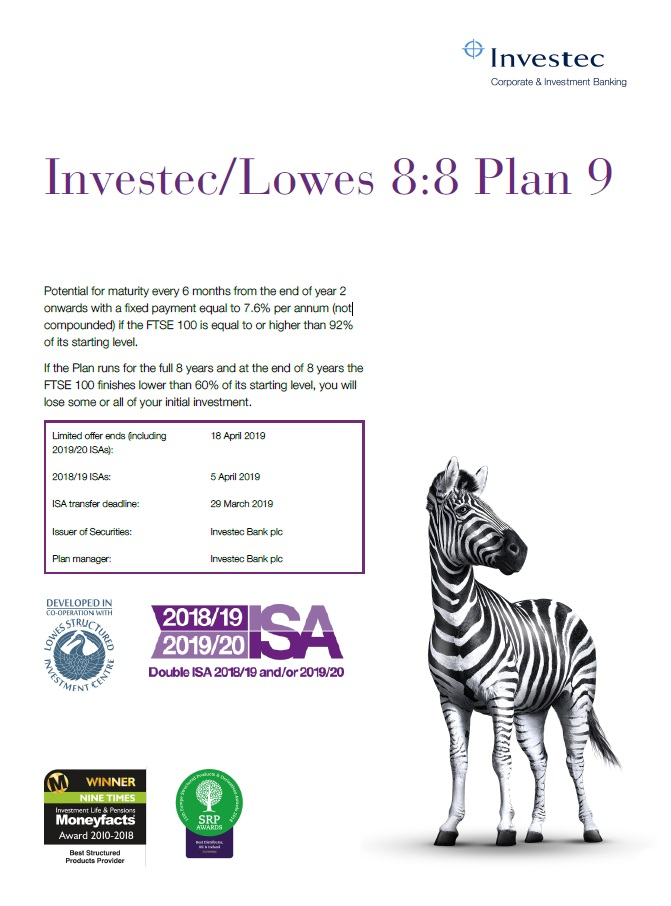 Investec / Lowes 8:8 Plan 9