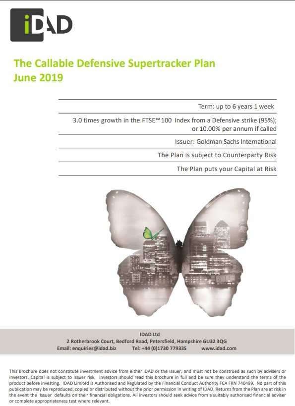 IDAD The Callable Defensive Supertracker Plan June 2019