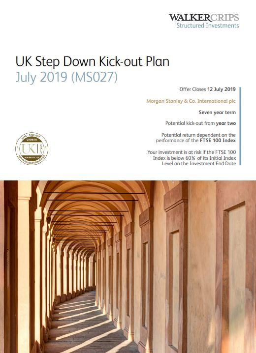 Walker Crips UK Step Down Kick-Out Plan July 2019 (MS027)
