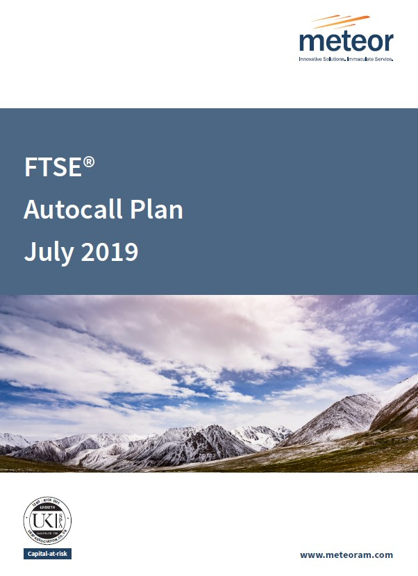 Meteor FTSE Autocall Plan July 2019 (Option 2)