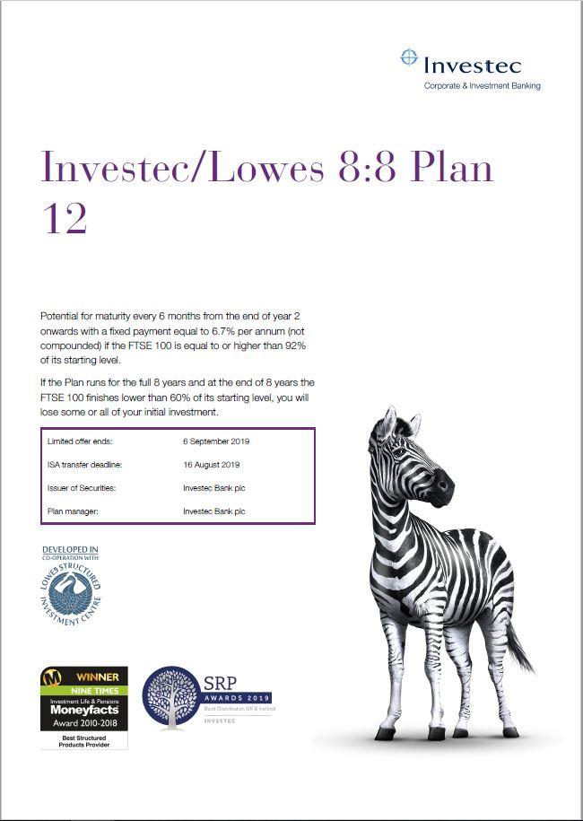 Investec / Lowes 8:8 Plan 12
