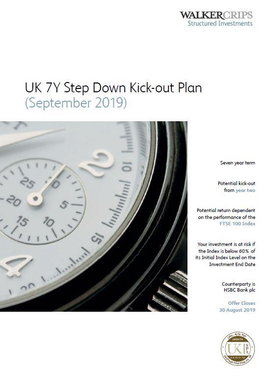 Walker Crips UK 7Y Step Down Kick-Out Plan September 2019