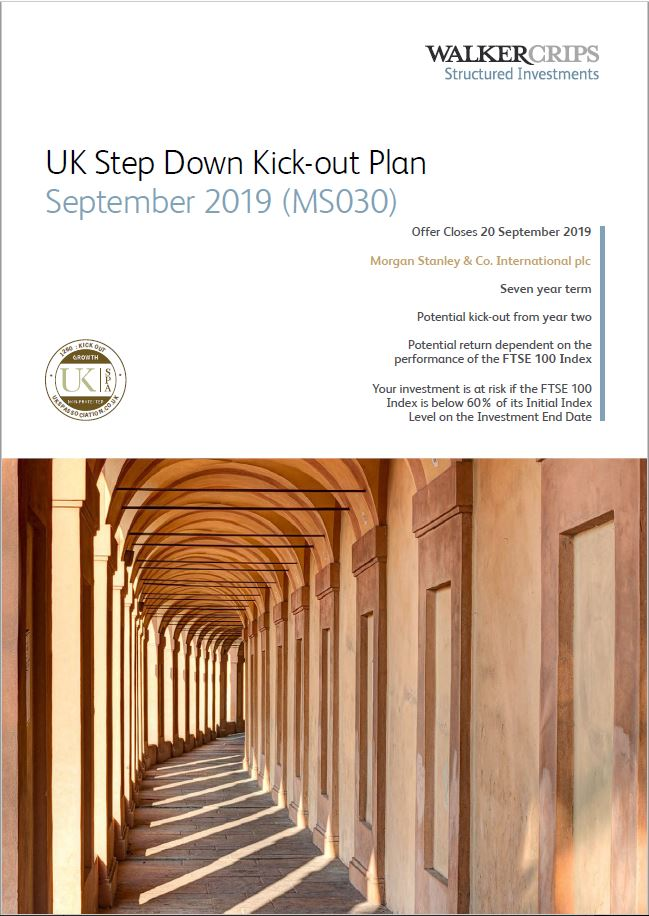 Walker Crips UK Step Down Kick-Out Plan September 2019 (MS030)