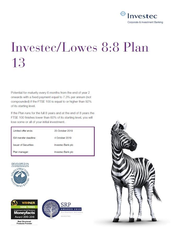 Investec / Lowes 8:8 Plan 13
