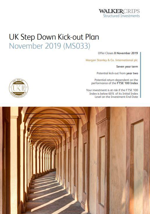 Walker Crips UK Step Down Kick-Out Plan November 2019 (MS033)