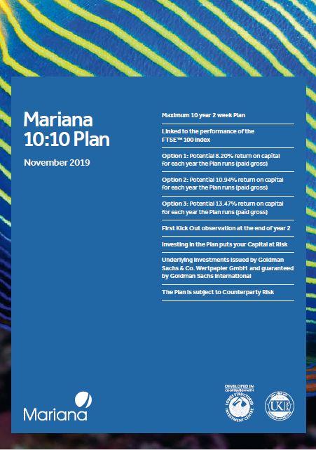 Mariana Capital 10:10 Plan November 2019 (Option 1)