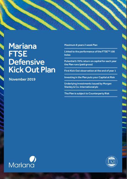 Mariana Capital FTSE Defensive Kick Out Plan November 2019