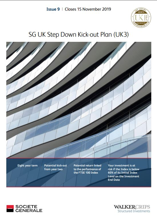 Societe Generale UK Step Down Kick-Out Plan (UK3) Issue 9 (Collateralised)