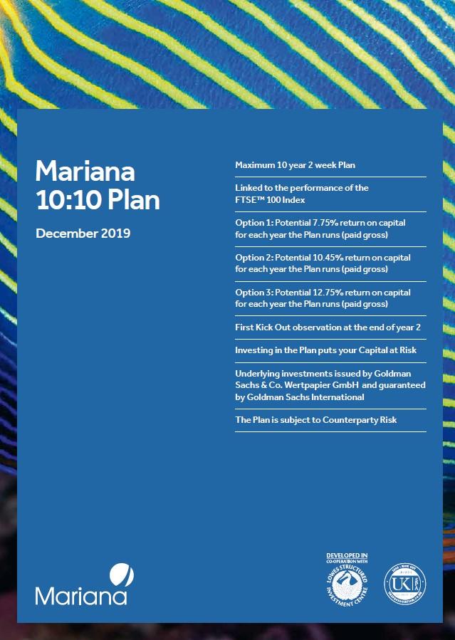 Mariana Capital 10:10 Plan December 2019 (Option 1)