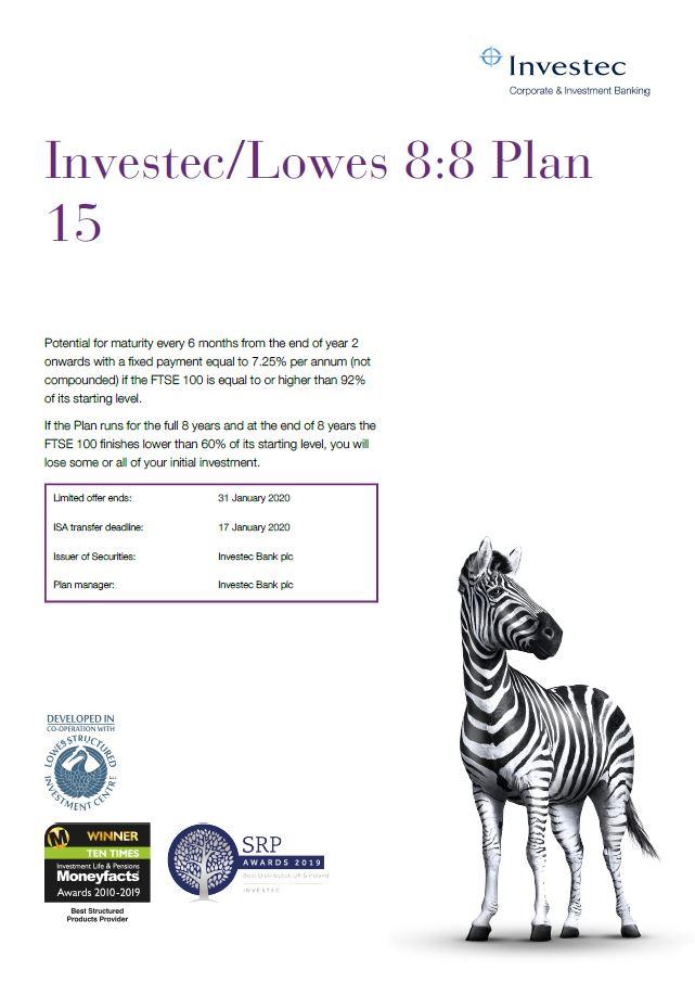 Investec / Lowes 8:8 Plan 15