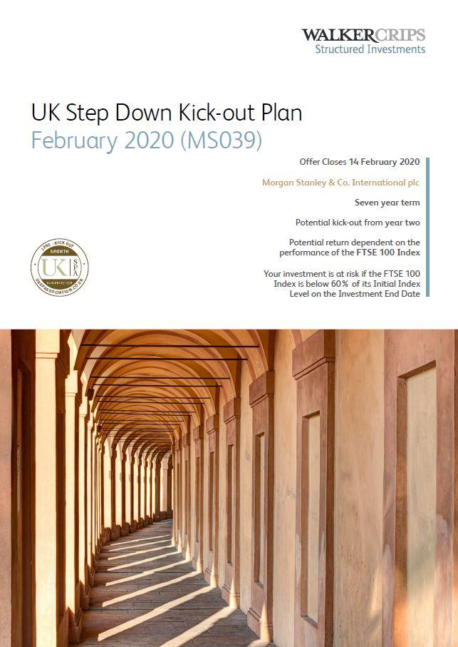 Walker Crips UK Step Down Kick-Out Plan February 2020 (MS039)