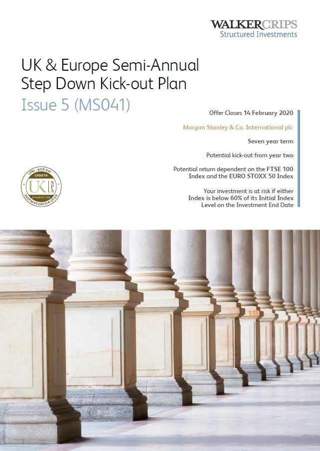 Walker Crips UK & Europe Semi-Annual Step Down Kick-Out Plan Issue 5 (MS041)
