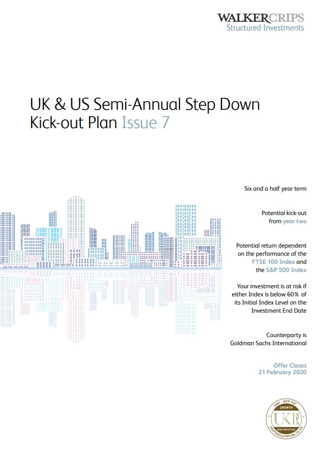 Walker Crips UK and US Semi-Annual Step Down Kick-Out Plan Issue 7