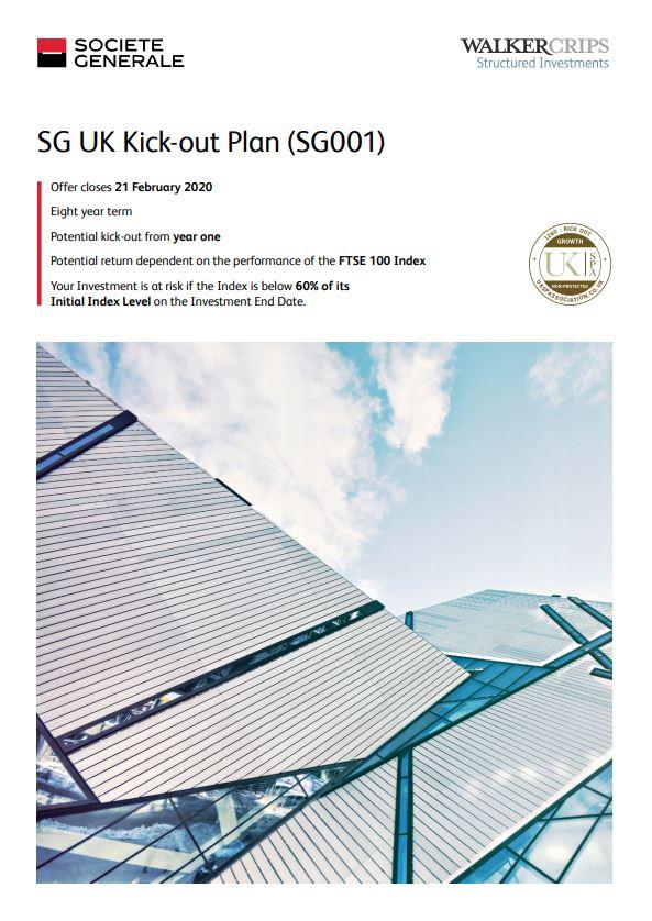 Societe Generale UK Kick-out Plan (SG001)
