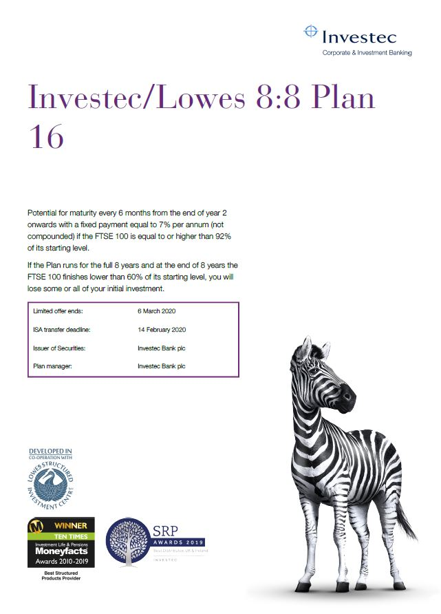 Investec / Lowes 8:8 Plan 16