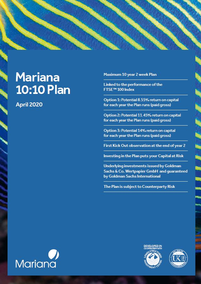Mariana Capital 10:10 Plan April 2020 (Option 1)