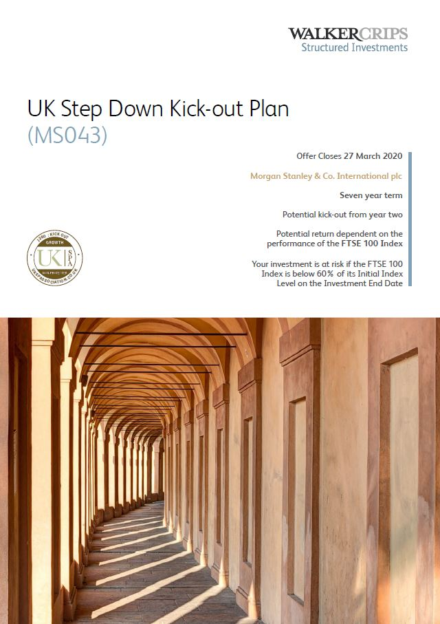 Walker Crips UK Step Down Kick-Out Plan (MS043)