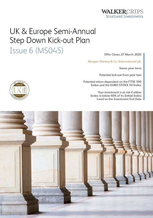 Walker Crips UK & Europe Semi-Annual Step Down Kick-Out Plan Issue 6 (MS045)