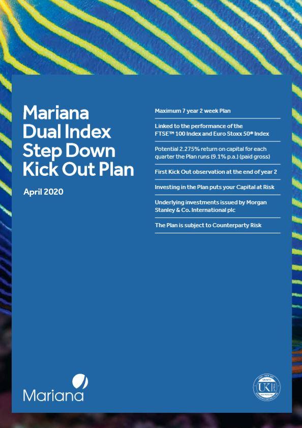 Mariana Capital Dual Index Step Down Kick Out Plan April 2020