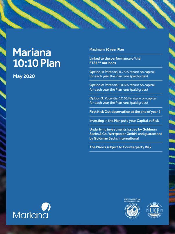 Mariana Capital 10:10 Plan May 2020 (Option 1)