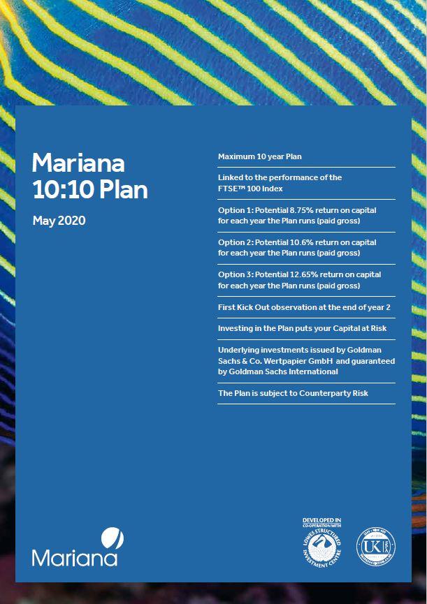 Mariana Capital 10:10 Plan May 2020 (Option 3)