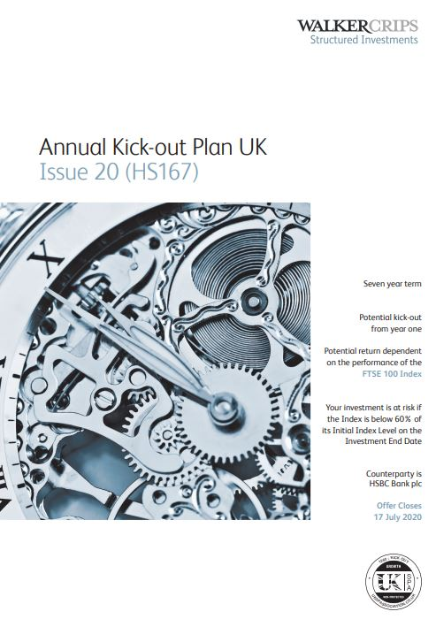 Walker Crips Annual Kick-out Plan UK Issue 20 (HS167)