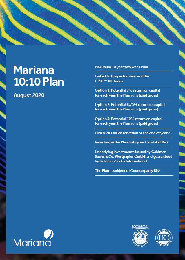 Mariana Capital 10:10 Plan August 2020 (Option 3)
