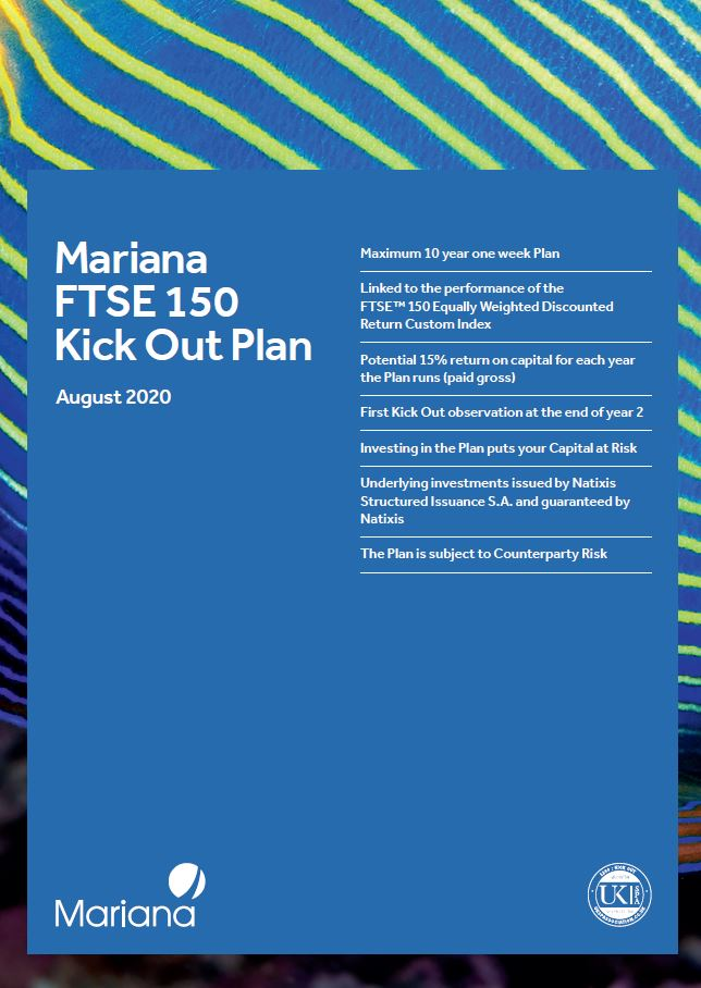 Mariana Capital FTSE 150 Kick Out Plan August 2020