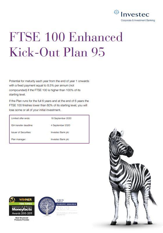 Investec FTSE 100 Enhanced Kick-Out Plan 95