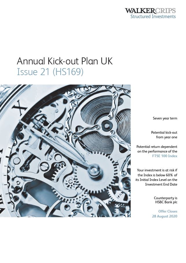 Walker Crips Annual Kick-out Plan UK Issue 21 (HS169)