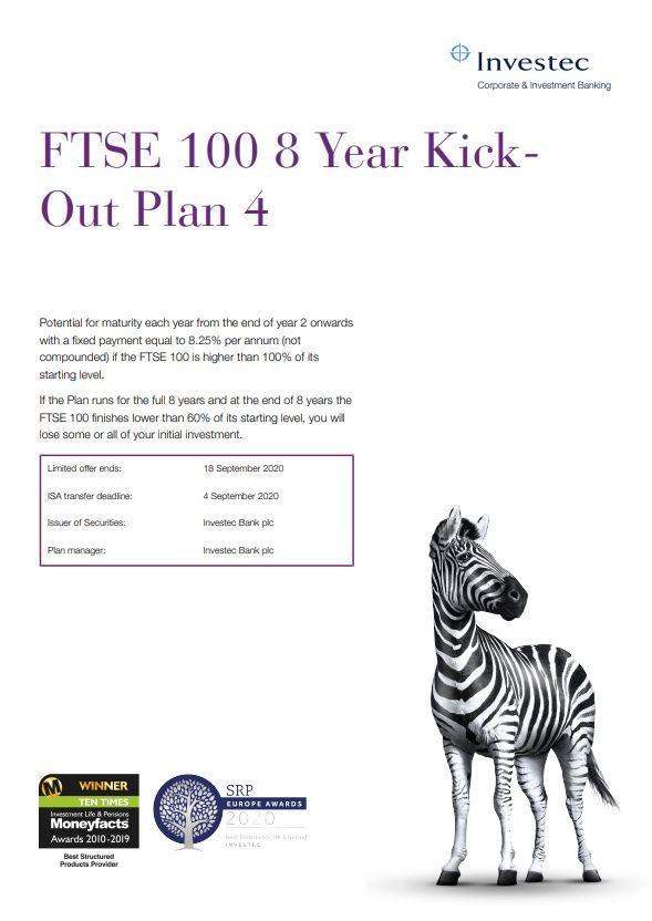 Investec FTSE 100 8 Year Kick-Out Plan 4