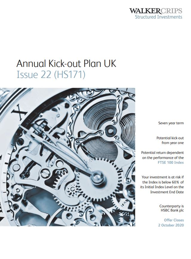 Walker Crips Annual Kick-out Plan UK Issue 22 (HS171)