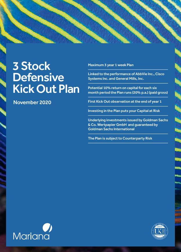 Mariana Capital 3 Stock Defensive Kick Out Plan November 2020