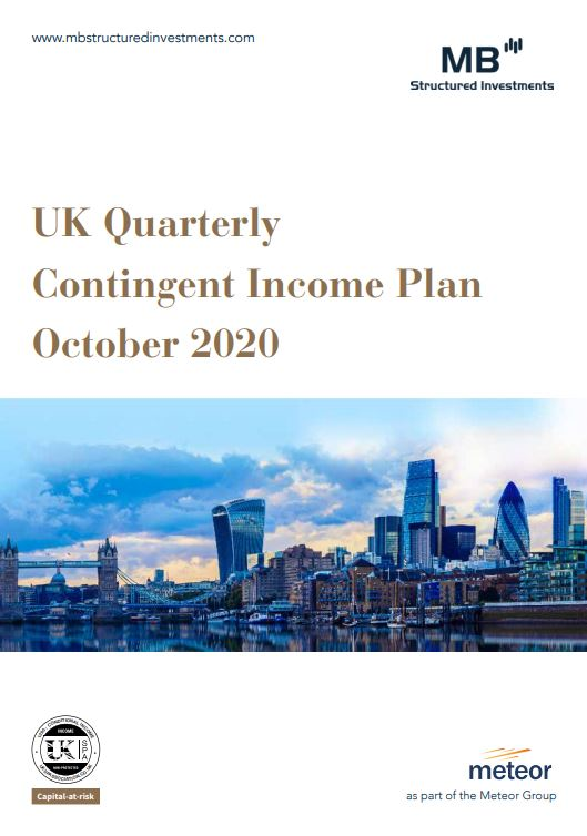 MB Structured Investments UK Quarterly Contingent Income Plan October 2020