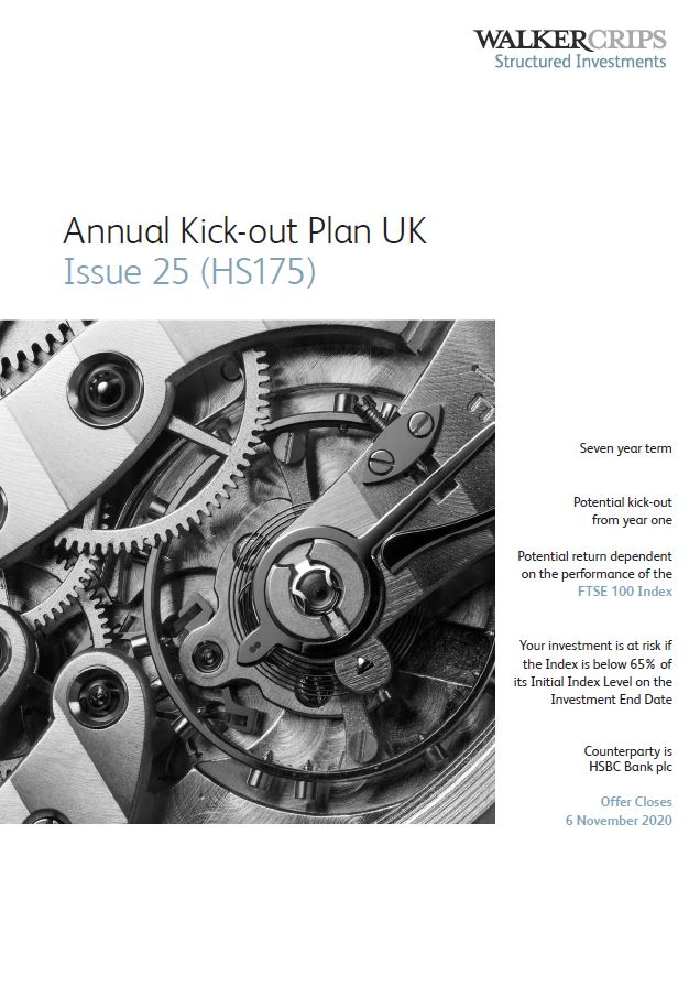Walker Crips Annual Kick-out Plan UK Issue 25 (HS175)