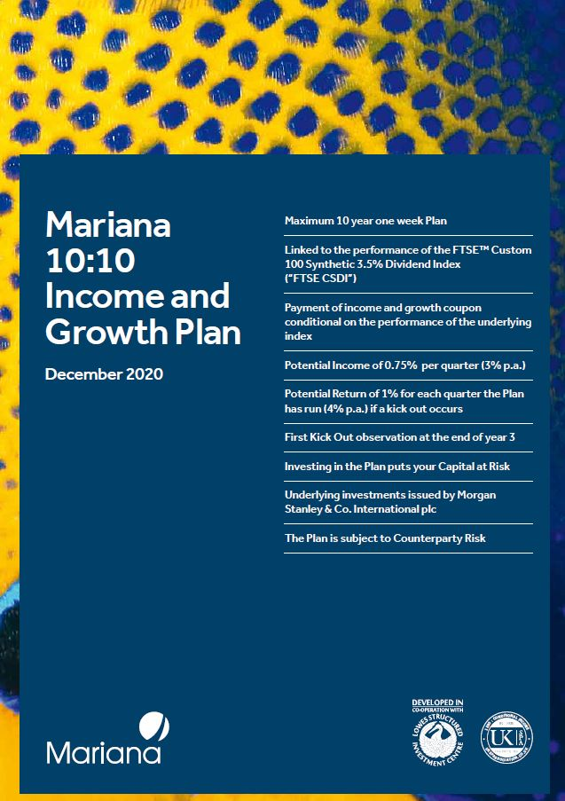Mariana Capital 10:10 Income and Growth Plan December 2020