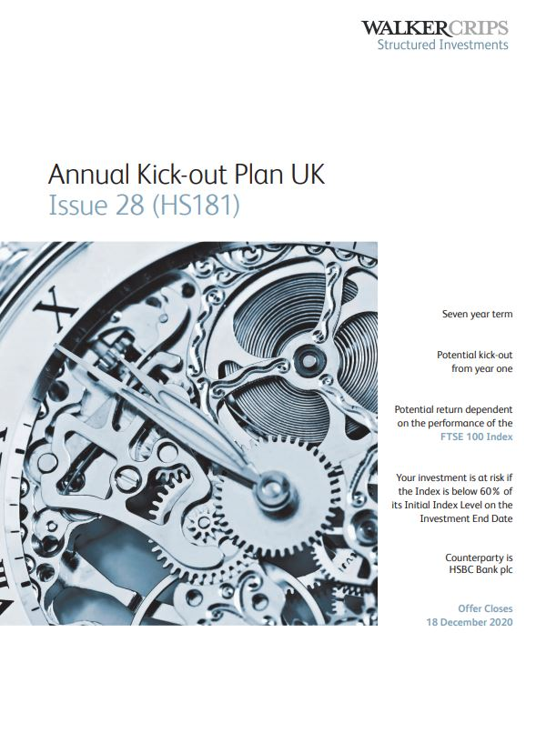 Walker Crips Annual Kick-out Plan UK Issue 28 (HS181)
