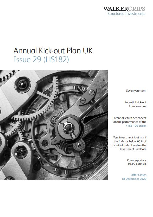 Walker Crips Annual Kick-out Plan UK Issue 29 (HS182)
