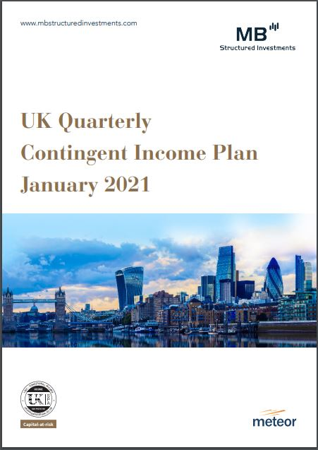 MB Structured Investments UK Quarterly Contingent Income Plan January 2021