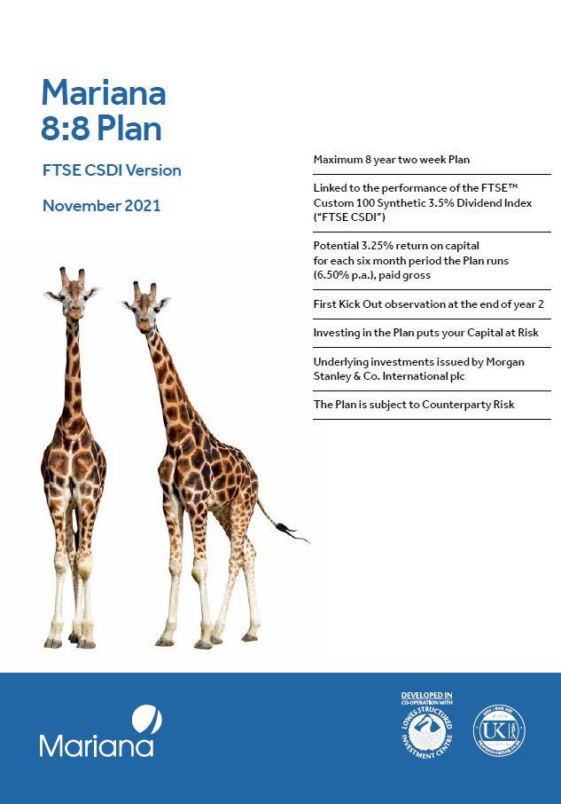 Mariana 8:8 Plan November 2021